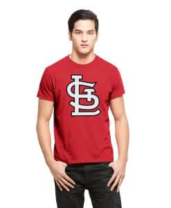 St. Louis Cardinals Fieldhouse T-Shirt Mens Rescue Red 47 Brand