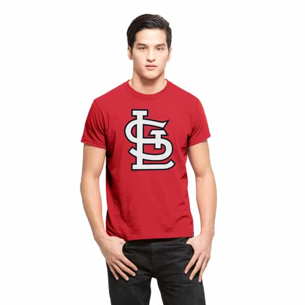 St. Louis Cardinals Fieldhouse T-Shirt Mens Rescue Red 47 Brand