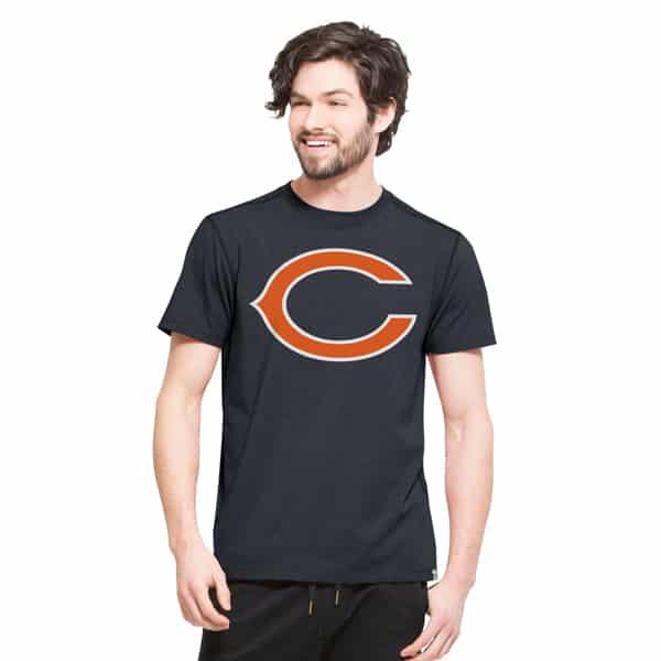 Chicago Bears Forward Ss T-Shirt Mens Shift Navy 47 Brand
