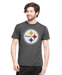 Pittsburgh Steelers Forward Ss T-Shirt Mens Shift Black 47 Brand
