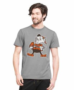 Cleveland Browns Forward Ss T-Shirt Mens Shift Grey 47 Brand