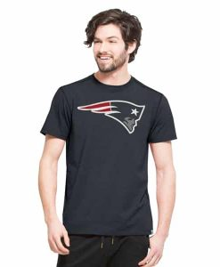 New England Patriots Forward Ss T-Shirt Mens Shift Navy 47 Brand