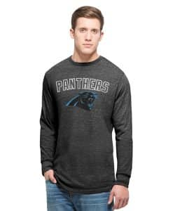 Carolina Panthers Team Tri-State Long Sleeve T-Shirt Mens Carbon Black 47 Brand