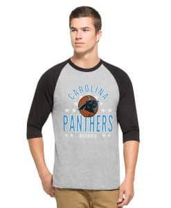 Carolina Panthers Lockdown Raglan Mens Olympus 47 Brand
