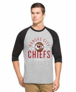 Kansas City Chiefs Lockdown Raglan Mens Olympus 47 Brand