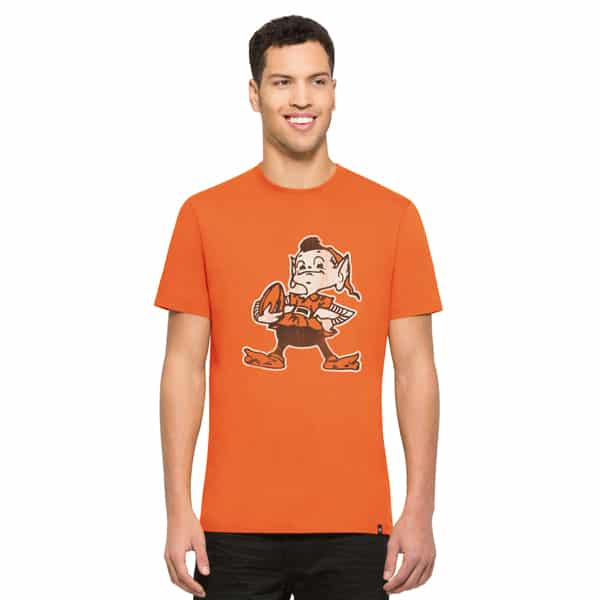 Cleveland Browns Knockaround Flanker T-Shirt Mens Carrot 47 Brand
