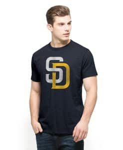 San Diego Padres Scrum T-Shirt Mens Fall Navy 47 Brand