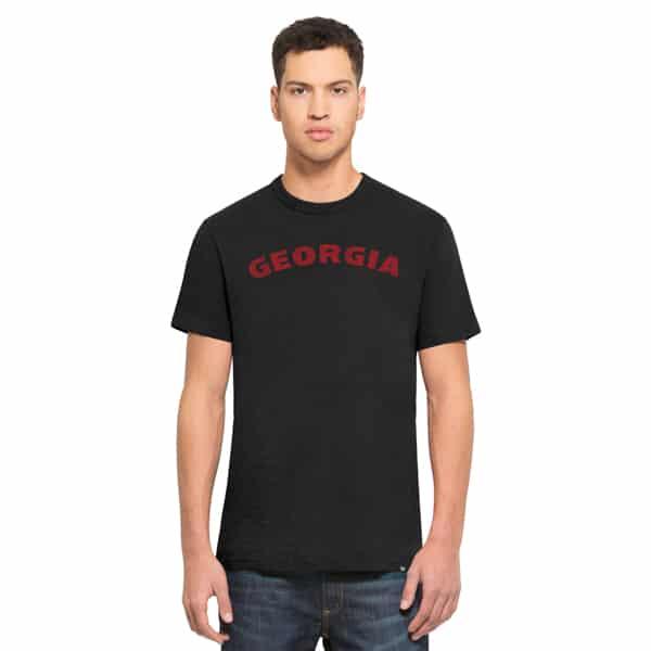 Georgia Bulldogs Scrum T-Shirt Mens Jet Black 47 Brand