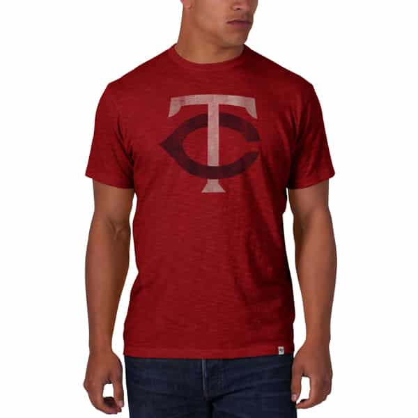 Minnesota Twins Scrum T-Shirt Mens Rescue Red 47 Brand