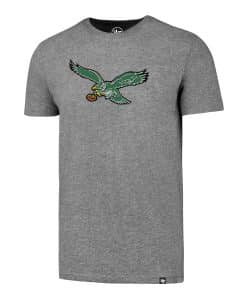 Philadelphia Eagles Men's 47 Brand Gray Classic Club T-Shirt Tee