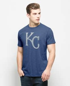 Kansas City Royals Scrum T-Shirt Mens Bleacher Blue 47 Brand