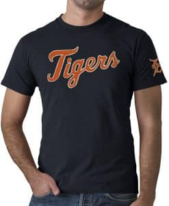 Detroit Tigers Fieldhouse Men's 47 Brand Navy T-Shirt Tee