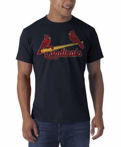 St. Louis Cardinals Allbright Fieldhouse T-Shirt Mens Fall Navy 47 Brand