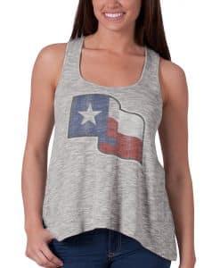 Texas Rangers Dream Team Tank Top Womens Battleship Grey 47 Brand