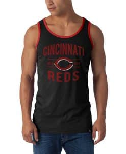 Cincinnati Reds XL Men's 47 Brand Black Till-Dawn Tank Top