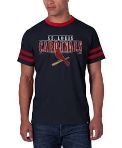 St. Louis Cardinals Pick N Roll T-Shirt Mens Slim Fall Navy 47 Brand
