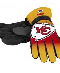Kansas City Chiefs Men's Big Logo Insulated Gloves