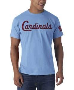St. Louis Cardinals Fieldhouse T-Shirt Mens Carolina 47 Brand