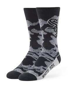 Chicago White Sox Bayonet Fuse Socks Black 47 Brand
