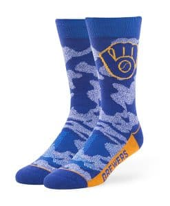 Milwaukee Brewers Bayonet Fuse Socks Royal 47 Brand