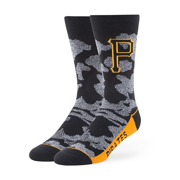 Pittsburgh Pirates Bayonet Fuse Socks Black 47 Brand