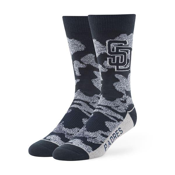 San Diego Padres Bayonet Fuse Socks Navy 47 Brand