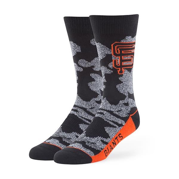 San Francisco Giants Bayonet Fuse Socks Black 47 Brand