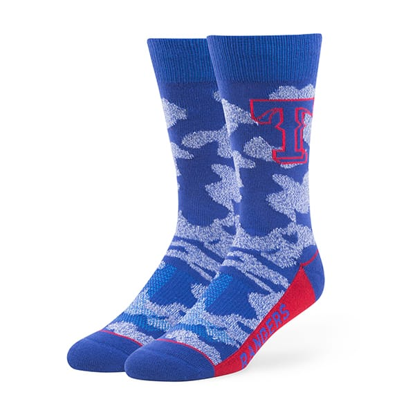 Texas Rangers Bayonet Fuse Socks Royal 47