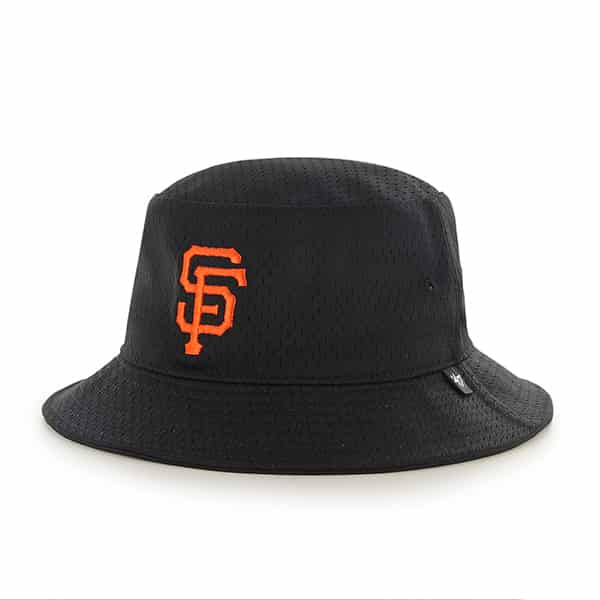 San Francisco Giants Backboard Bucket Hat Black 47 Brand
