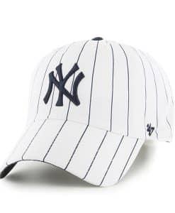 New York Yankees Bird Cage White 47 Brand Hat
