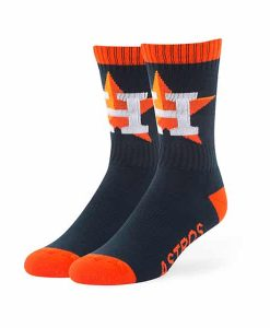 Houston Astros Bolt Sport Socks Navy 47 Brand