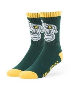 Oakland Athletics Bolt Sport Socks Dark Green 47 Brand