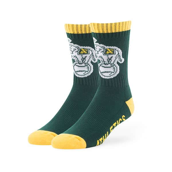 Oakland Athletics Bolt Sport Socks Dark Green 47 Brand