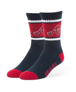 Atlanta Braves Duster Sport Socks Navy 47 Brand