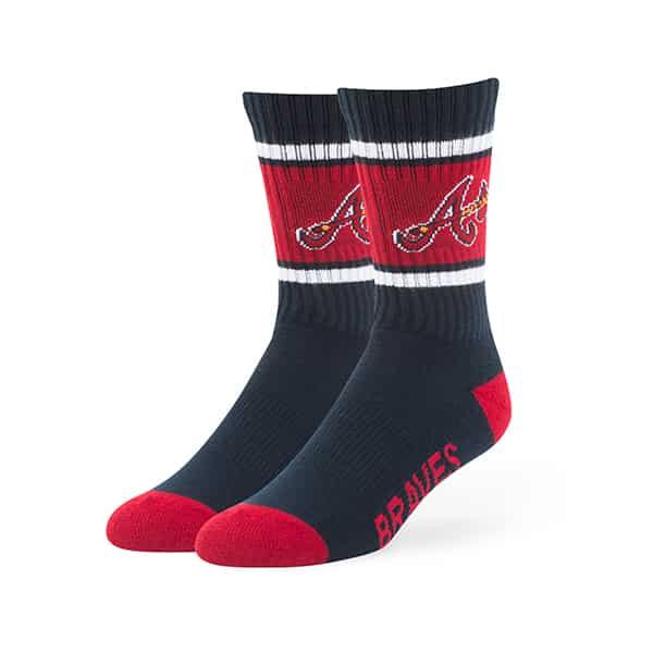 Atlanta Braves Duster Sport Socks Navy 47 Brand