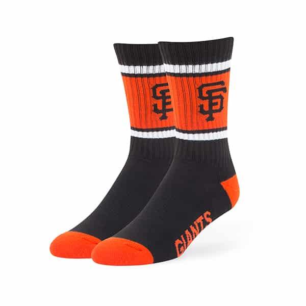 San Francisco Giants Duster Sport Socks Black 47 Brand