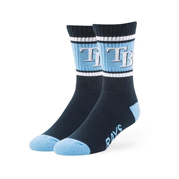 Tampa Bay Rays Duster Sport Socks Navy 47 Brand