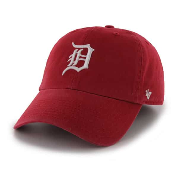 Detroit Tigers 47 Brand Red Franchise Fitted Hat