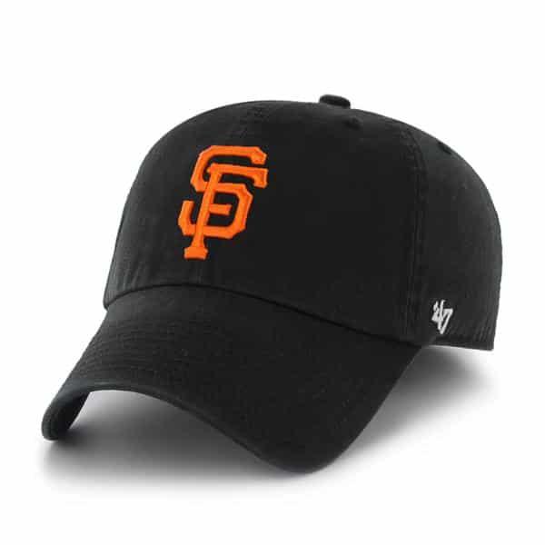 San Francisco Giants Franchise Black Hat Black 47 Brand Hat