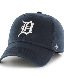 Detroit Tigers 47 Brand Franchise Home Navy Fitted Hat
