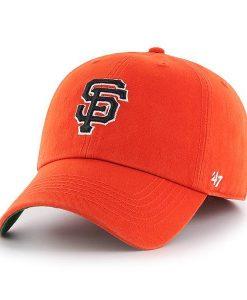 San Francisco Giants 47 Brand Orange Franchise Fitted Hat