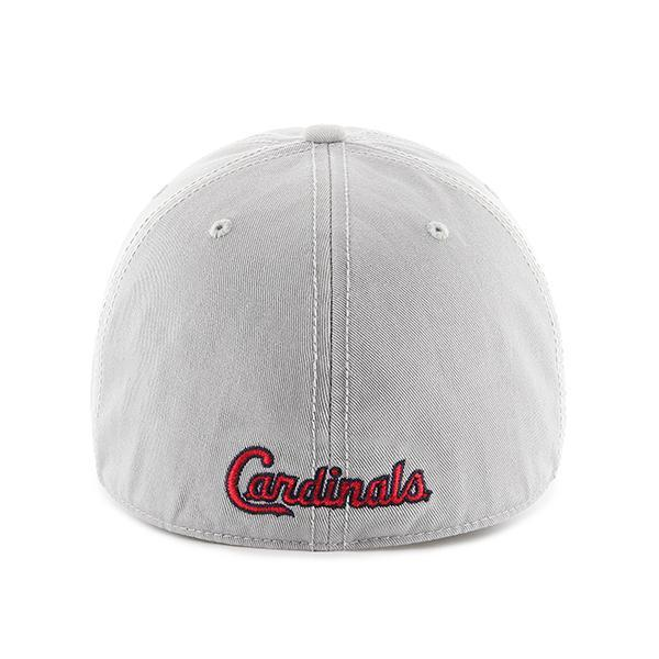 d30d7a6ec0c51 St. Louis Cardinals SMALL 47 Brand Gray Franchise Fitted Hat ...