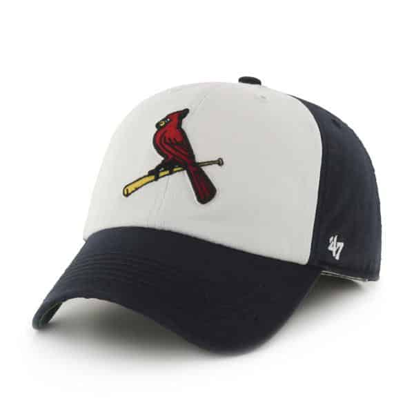 St. Louis Cardinals Freshman Navy 47 Brand Fitted Hat