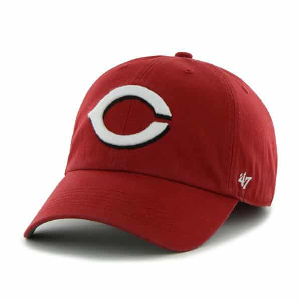 Cincinnati Reds Franchise Home 47 Brand Fitted Hat