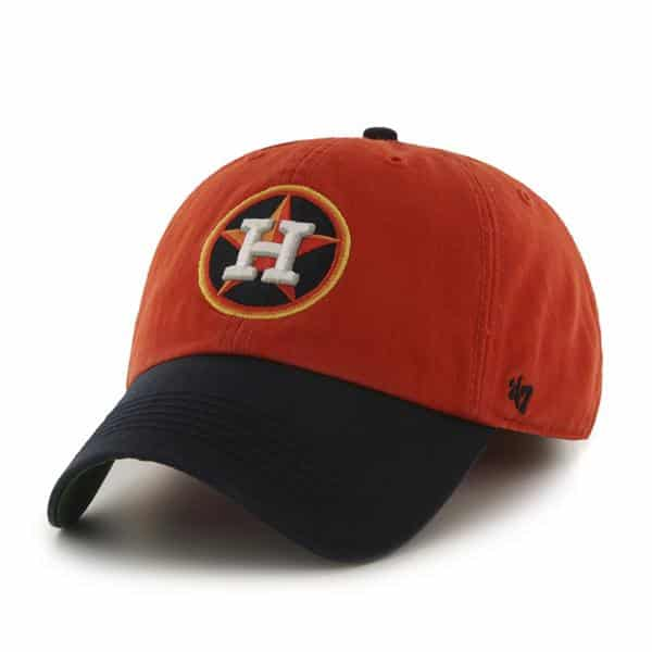 Houston Astros Franchise Orange 47 Brand Fitted Hat