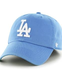 Los Angeles Dodgers 47 Brand Franchise Glacier Blue Fitted Hat