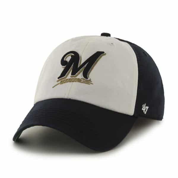 Milwaukee Brewers Franchise Navy 47 Brand Hat