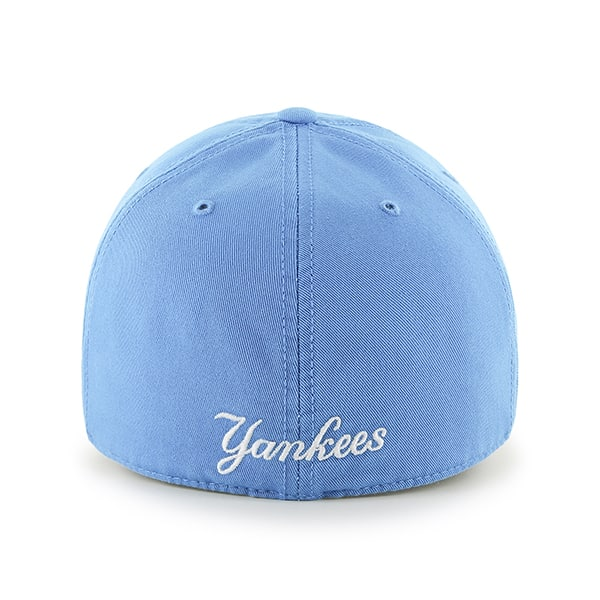5eb28b62f6aeb New York Yankees Franchise Glacier Blue 47 Brand Fitted Hat. New ...