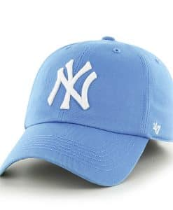 New York Yankees Franchise Glacier Blue 47 Brand Fitted Hat