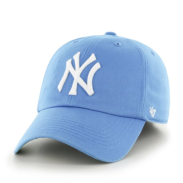 15ffd653eff ... reduced new york yankees franchise glacier blue 47 brand fitted hat  421ac c2124